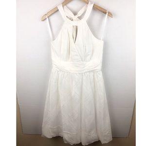 WHBM Halter Dress silk blended Size 4